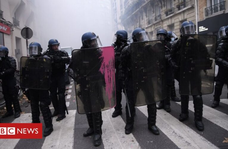 France's Macron calls for 'urgent' police reform following protests